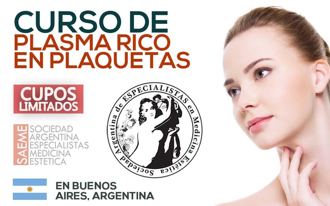 Curso de Plasma Rico en Plaquetas en BUENOS AIRES
