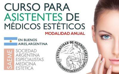 Curso para Asistentes de Médicos Estéticos en ARGENTINA