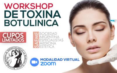Workshop de Aplicación de Toxina Panfacial en BUENOS AIRES