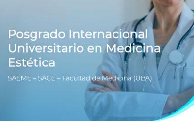 Posgrado Internacional Universitario en Medicina Estética
