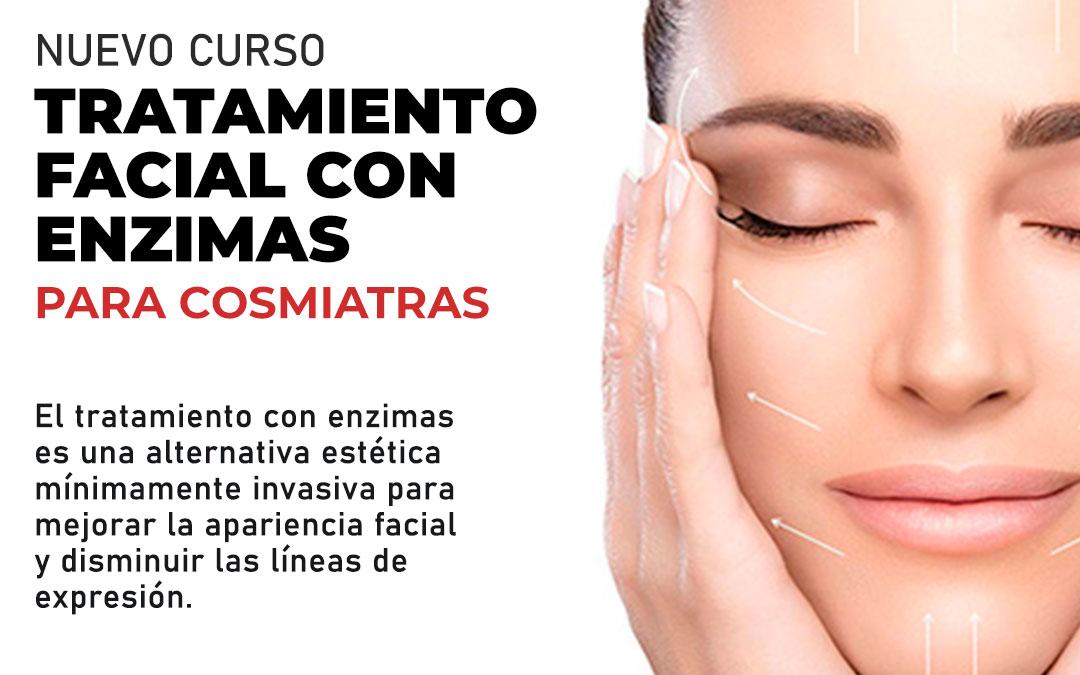 tratamiento facial con enzimas